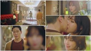 Lee Ji Ah vừa xuất hiện đã hôn Uhm Ki Joon say đắm tại 'Penthouse 2'