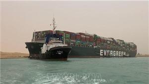 Tòa án Ai Cập ra phán quyết tiếp tục giữ tàu Ever Given ở Kênh đào Suez