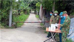 Dịch Covid-19: Hà Nam thiết lập vùng cách ly y tế tại 2 thôn ở huyện Lý Nhân