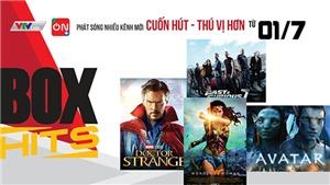 Loạt phim đặc sắc và chương trình giải trí 'hot' trên VTVcab tháng 7