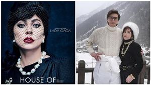 Lady Gaga tái xuất kiêu sa nhưngđầy tâm trạng trong phim mới 'House of Gucci'