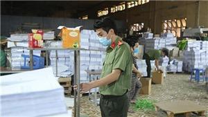 Phát hiện 2 cơ sở in SGK có dấu hiệu làm giả với quy mô lớn tại Hà Nội