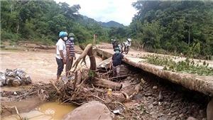 Áp thấp nhiệt đới cách Hà Tĩnh 120 km, gây mưa lớn tại Trung Bộ
