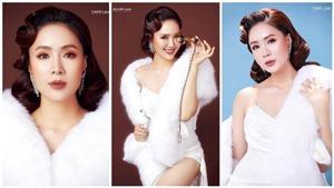 Hồng Diễm đăng ảnh 'quý cô' sang chảnh, fan thốt lên 'điểm 10'