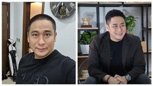 Diễn viên Minh Tiệp 'xuống tóc' gửi thông điệp ủng hộ tuyến đầu chống dịch Covid-19
