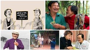 Bạn bè lưu giữ nhiều hình ảnh đáng nhớ của nghệ sĩ Giang 'còi'