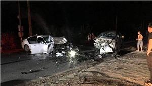 Ô tô chạy tốc độ cao lấn làn gây tai nạn khiến 2 người chết tại Hà Giang