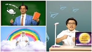 Xuân Bắc làm thầy giáo cùng con trai Bi béo lên sóng VTV dịp Tết Trung thu