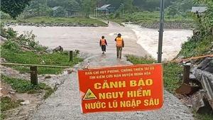 Từ ngày 17-18/10, khu vực từ Hà Tĩnh đến Khánh Hòa và Bắc Tây Nguyên có mưa to đến rất to