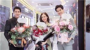 Đỗ Mỹ Linh đón sinh nhật đặc biệt ở tuổi 25 với siêu xe chở đầy hoa