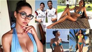 Ronaldo giới thiệu chân dài 'xinh như mộng' cho James Rodriguez
