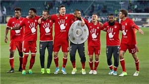 Wolfsburg 0-6 Bayern Munich: Bayern vô địch sớm 3 vòng. Ancelotti lập kỉ lục vô tiền khoáng hậu