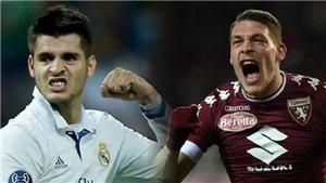 Man United sẽ đá sơ đồ nào nếu có cả Morata và Belotti?