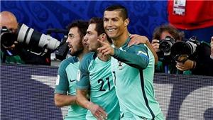 Nga 0-1 Bồ Đào Nha: Ronaldo ghi bàn, xác lập kỉ lục mới
