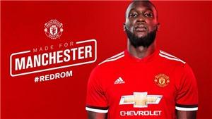 Romelu Lukaku chính thức gia nhập Man United, ký hợp đồng có thời hạn 5 năm