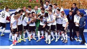 Đức khẳng định sức mạnh tuyệt đối khi đánh bại Chile, vô địch Confederations Cup 2017