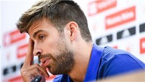 Pique bật khóc, cân nhắc bỏ đội tuyển Tây Ban Nha sau khi bạo lực nổ ra ở xứ Catalunya