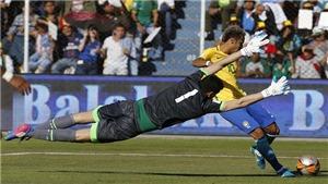 Khiến Neymar tịt ngòi, thủ môn Bolivia trở nên nổi tiếng