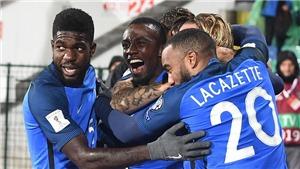 Video clip highlights bàn thắng trận Bulgaria 0-1 Pháp