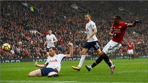 ĐIỂM NHẤN M.U 1-0 Tottenham: Martial là họng súng trong tay áo. Lukaku là 'target man'