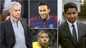 SỐC!!! Mourinho chạy sang PSG vì không thể giúp M.U đua với Man City