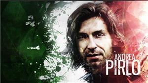 Nhìn kìa, Pirlo chuyền bóng mà không thèm mở mắt!