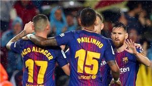 Video clip highlights bàn thắng trận Leganes 0-3 Barcelona