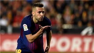 Video clip highlights bàn thắng trận Valencia 1-1 Barcelona