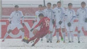 Siêu phẩm 'Cầu vồng tuyết' của Quang Hải đoạt giải Bàn thắng đẹp nhất U23 châu Á 2018