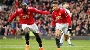 Video clip bàn thắng M.U 2-0 Swansea: Khi Sanchez và Lukaku thăng hoa