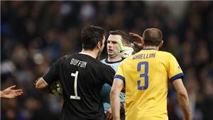 Gianluigi Buffon: 'Tôi sẵn sàng lặp lại điều đã nói với trọng tài Michael Oliver'