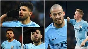 Man City áp đảo Đội hình xuất sắc nhất năm của PFA, M.U chỉ có 1 cầu thủ