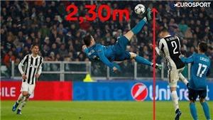 Ronaldo lập kỷ lục không tưởng, như siêu nhân sau khi giúp Real Madrid hủy diệt Juventus