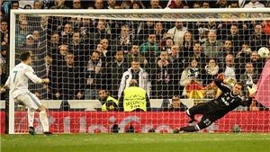 Video bàn thắng Real Madrid 1-3 Juventus (tổng 4-3): Kịch tính và bàn penalty tranh cãi của Ronaldo