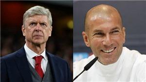 Wenger là ứng viên hàng đầu dẫn dắt Real Madrid sau khi Zidane từ chức