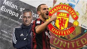 CHUYỂN NHƯỢNG M.U 30/6: Mourinho đòi mua Bonucci. Nhà cái đặt cược Kroos sang M.U