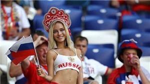 CĐV Nga nóng bỏng nhất World Cup phủ nhận là sao phim khiêu dâm