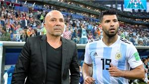 Aguero trả giá đắt do 'đâm lén' Sampaoli. Argentina có nhiều xáo trộn ở đại chiến với Nigeria