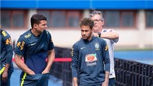 Lo bị đội khác do thám, Brazil cho dựng bình phong ở sân tập