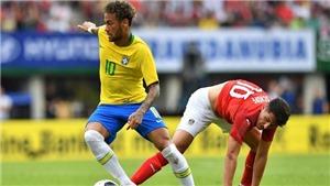 Video clip bàn thắng Áo 0-3 Brazil: Neymar đi vào lịch sử
