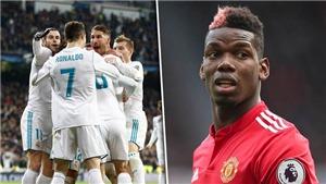CHUYỂN NHƯỢNG M.U 9/6: Mourinho đổi Pogba lấy Ronaldo. Phải tranh giành mục tiêu với Juventus