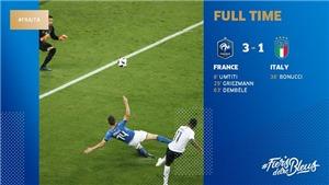 Pháp 3-1 Italy: Griezmann và Dembele tỏa sáng, Pháp chứng tỏ sức mạnh trước thềm World Cup