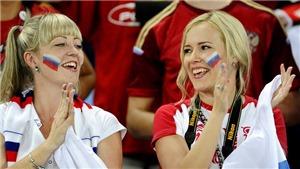 SỐC: Người Anh đến xem World Cup 2018 chỉ vì sắc đẹp của các cô gái Nga
