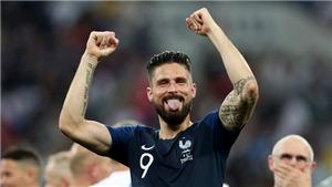 Giroud đá cả giải không có cú sút trúng đích nào nhưng cầm Cúp vàng thì lâu nhất