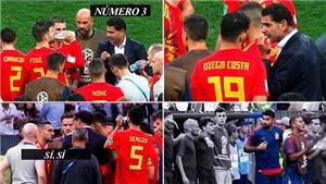 Tây Ban Nha thua từ trước lúc đá luân lưu khi Diego Costa chất vấn HLV về Koke
