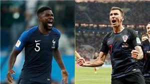Xem trực tiếp chung kết World Cup 2018: Pháp vs Croatia (22h00 ngày 15/7)