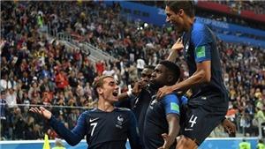 Video clip bàn thắng Pháp 1-0 Bỉ: Umtiti một tay đưa Pháp vào Chung kết