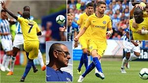 ĐIỂM NHẤN Huddersfield 0-3 Chelsea: Sarri & Chelsea mở màn rực rỡ. Morata vẫn thất vọng