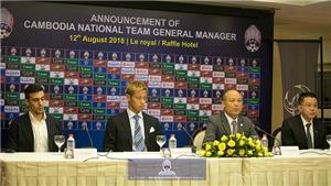 Keisuke Honda dẫn dắt đội tuyển Campuchia, có thể đối đầu với Park Hang Seo
