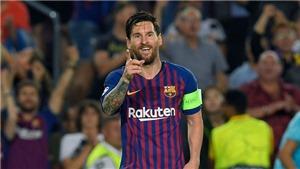 Video clip bàn thắng Barca 4-0 PSV: Hat-trick cho Messi!
